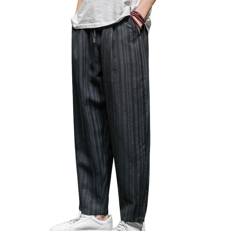 Casual Striped Harem Pants