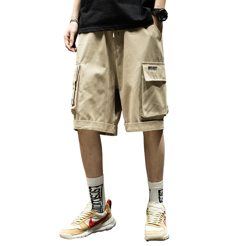 Big Pocket Loose Fit Cargo Shorts