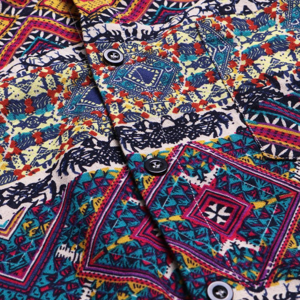 Nipkit Design - Ethnic Moroccan Button Shirt