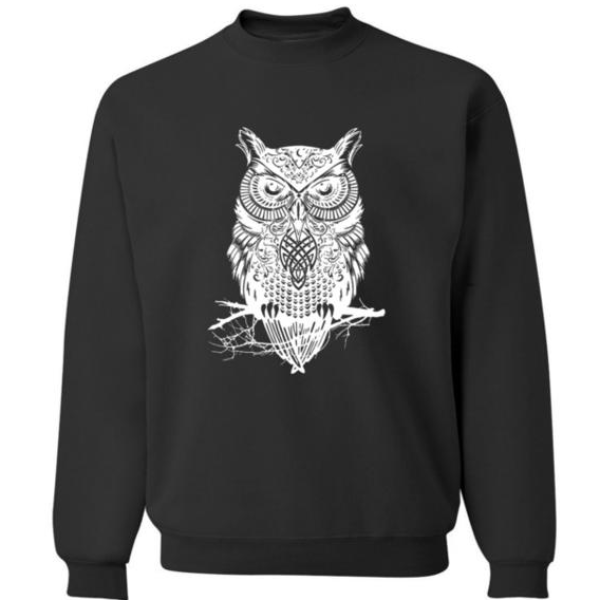 Cool Owl Sweatshirt