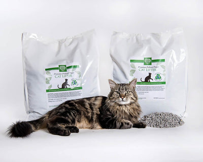 Recycled Pelleted Paper Cat Litter