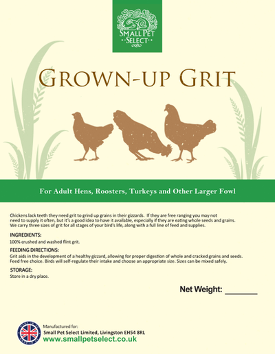 Grown-up Chicken Grit