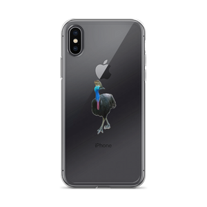 Cassowary Print iPhone Case