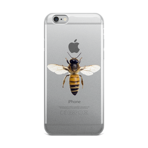 Honey-Bee Print iPhone Case