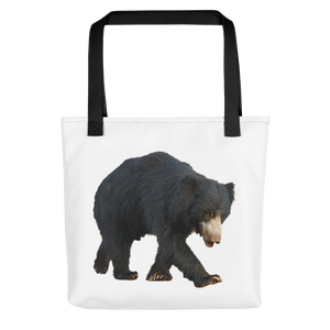 Sloth-Bear Print Tote bag