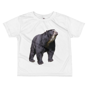 Specticaled-Bear Print All-over kids sublimation T-shirt