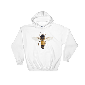 Honey-Bee Print Hooded Sweatshirt