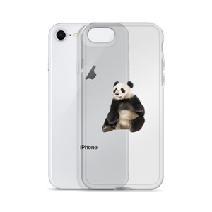 Giant-Panda Print iPhone Case