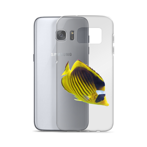 Butterfly-Fish Print Samsung Case