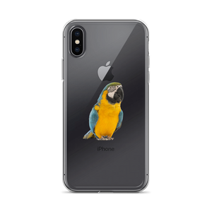 Macaw Print iPhone Case