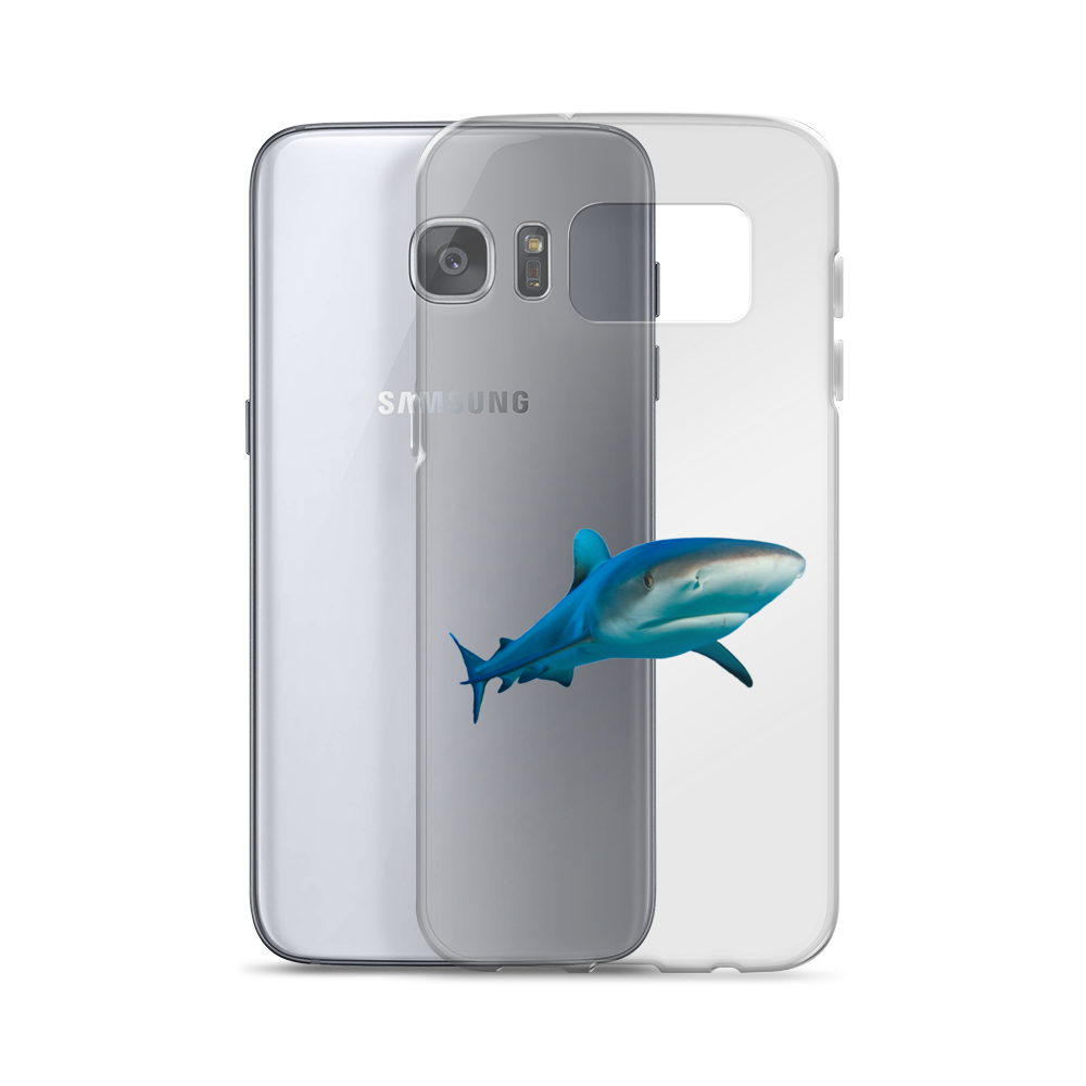 Great-White-Shark Print Samsung Case