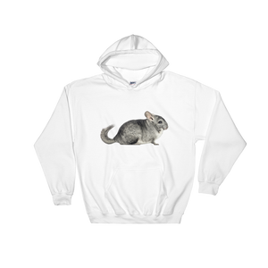 Chinchilla- Print Hooded Sweatshirt