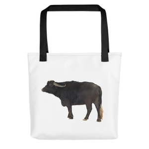 Water-Buffalo Print Tote bag