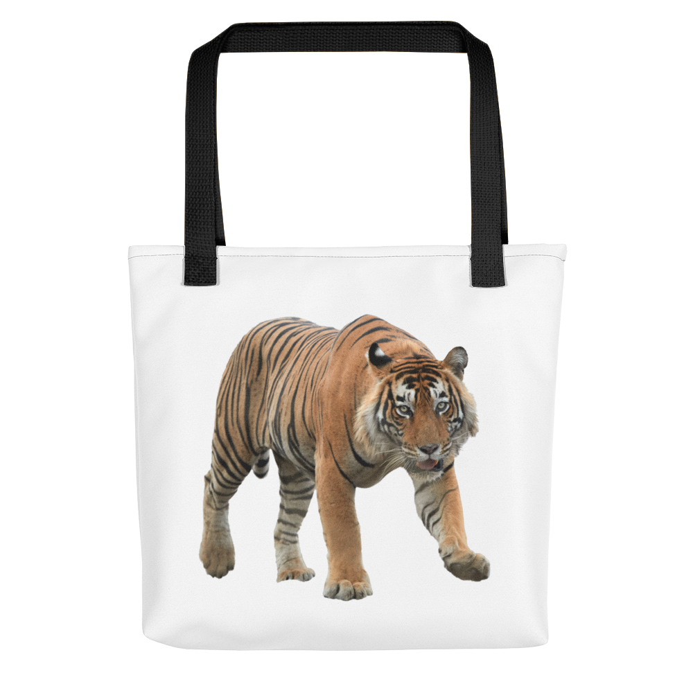 Bengal-Tiger- Print Tote bag