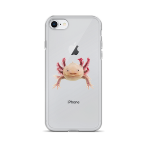 Axolotle Print iPhone Case
