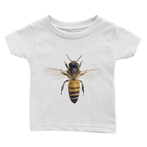 Honey-Bee Print Infant Tee
