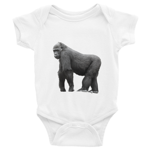Gorilla Print Infant Bodysuit