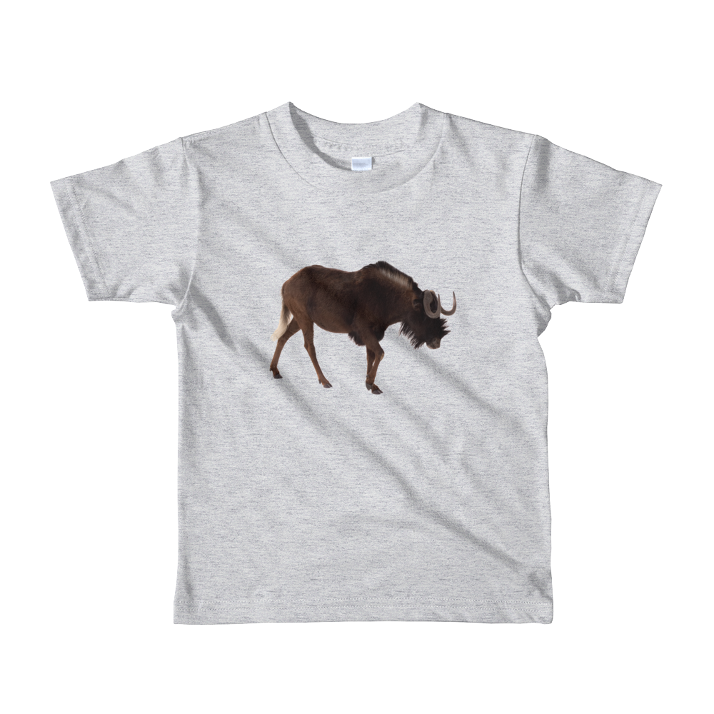 Wilderbeast Print Short sleeve kids t-shirt
