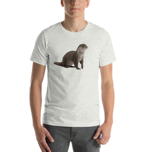 European Otter Short-Sleeve Unisex T-Shirt