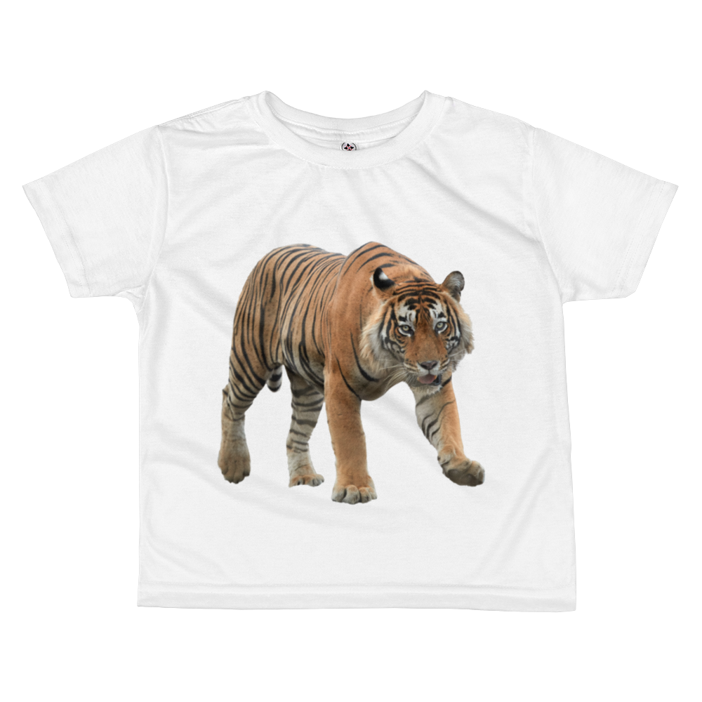 Bengal-Tiger Print All-over kids sublimation T-shirt
