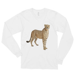 Cheetah Print Long sleeve t-shirt (unisex)
