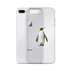 Emperor-Penguin Print iPhone Case