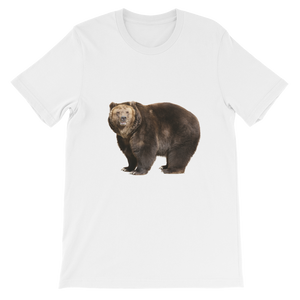 Brown-Bear Short-Sleeve Unisex T-Shirt