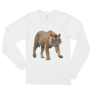 Bengal-Tiger Print Long sleeve t-shirt (unisex)