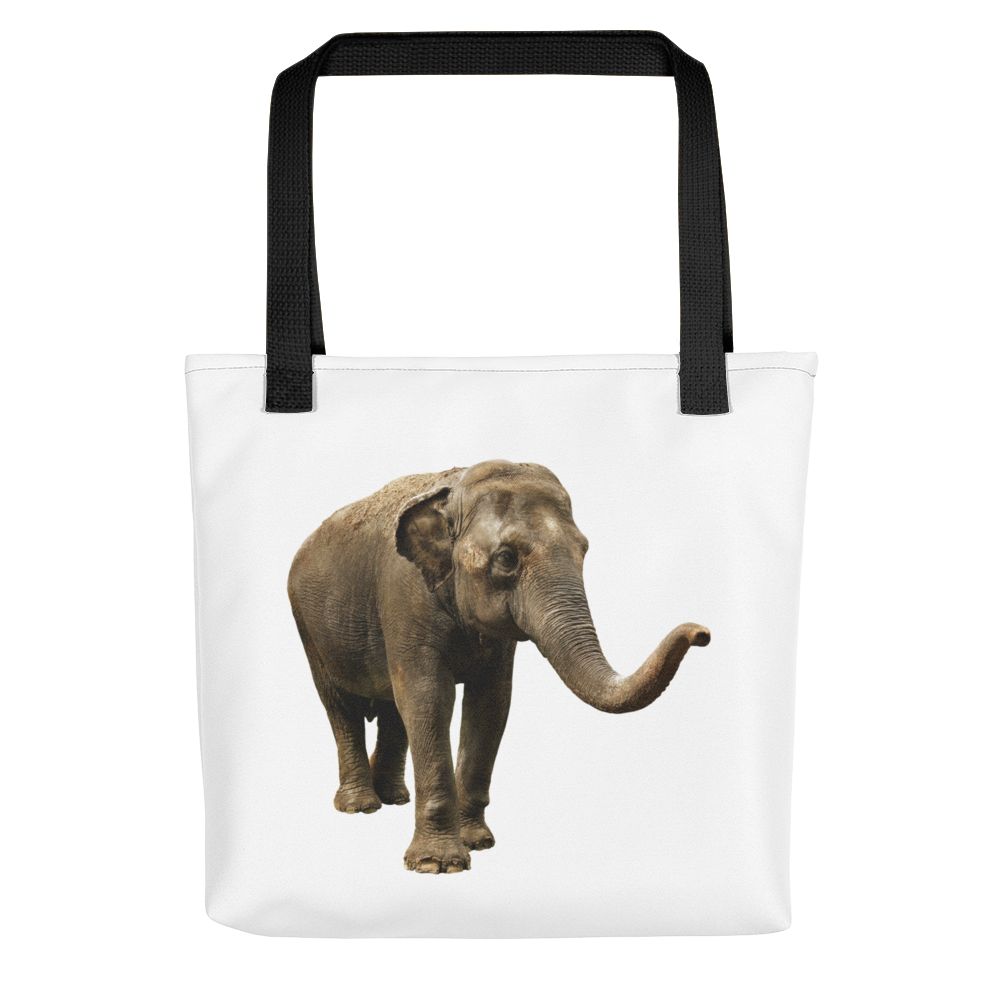 Indian-Elephant print Tote bag