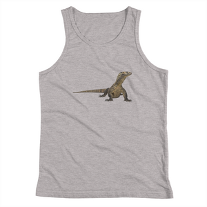 Komodo-Dragon Print Youth Tank Top