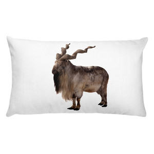 Markhoor Print Rectangular Pillow