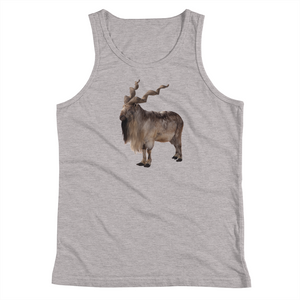 Markhoor Print Youth Tank Top