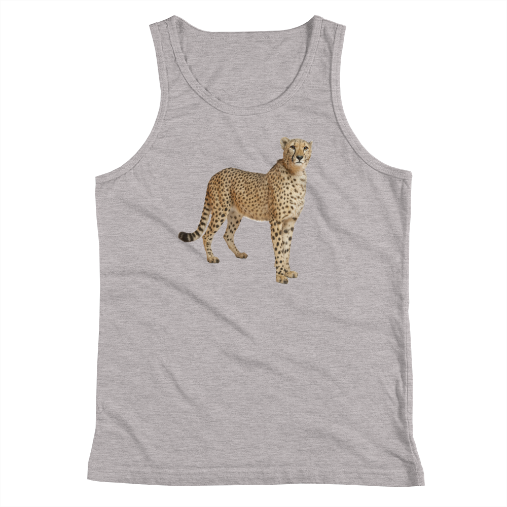 Cheetah Print Youth Tank Top