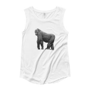Gorilla Ladies‰۪ Cap Sleeve T-Shirt