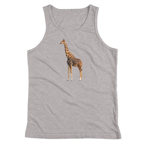 Giraffe Print Youth Tank Top