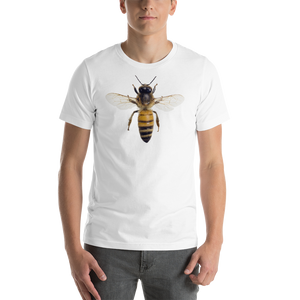 Honey Bee Print Short-Sleeve Unisex T-Shirt