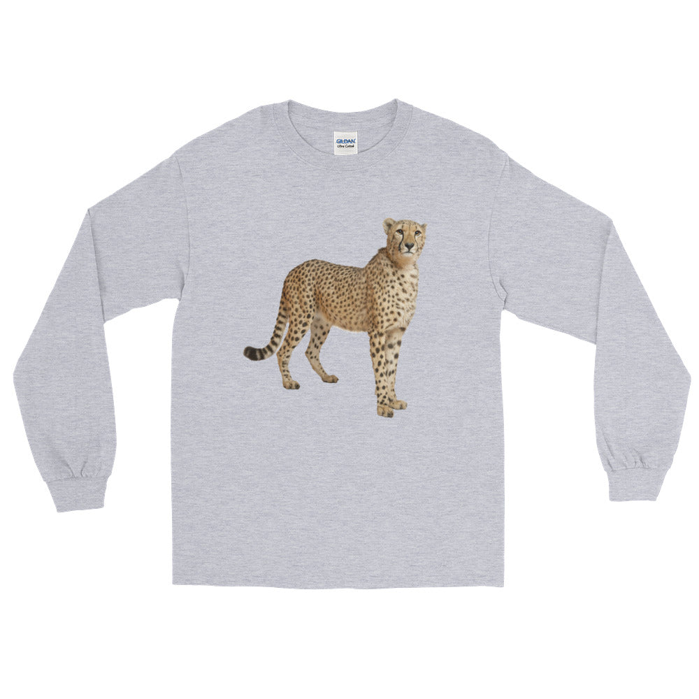 Cheetah Print Long Sleeve T-Shirt