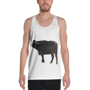 Water Buffalo Print Unisex Tank Top