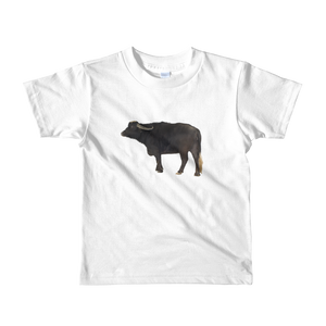 Water-Buffalo Print Short sleeve kids t-shirt