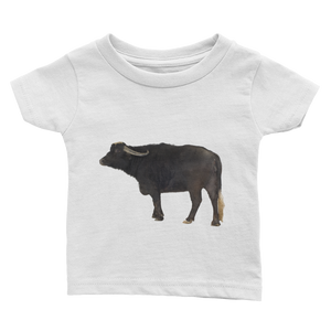 Water-Buffalo Print Infant Tee
