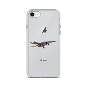 Dwarf-Crocodile Print iPhone Case