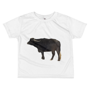 Water-Buffalo Print All-over kids sublimation T-shirt