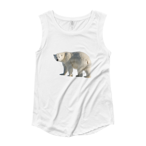 Polar-Bear Ladies‰۪ Cap Sleeve T-Shirt