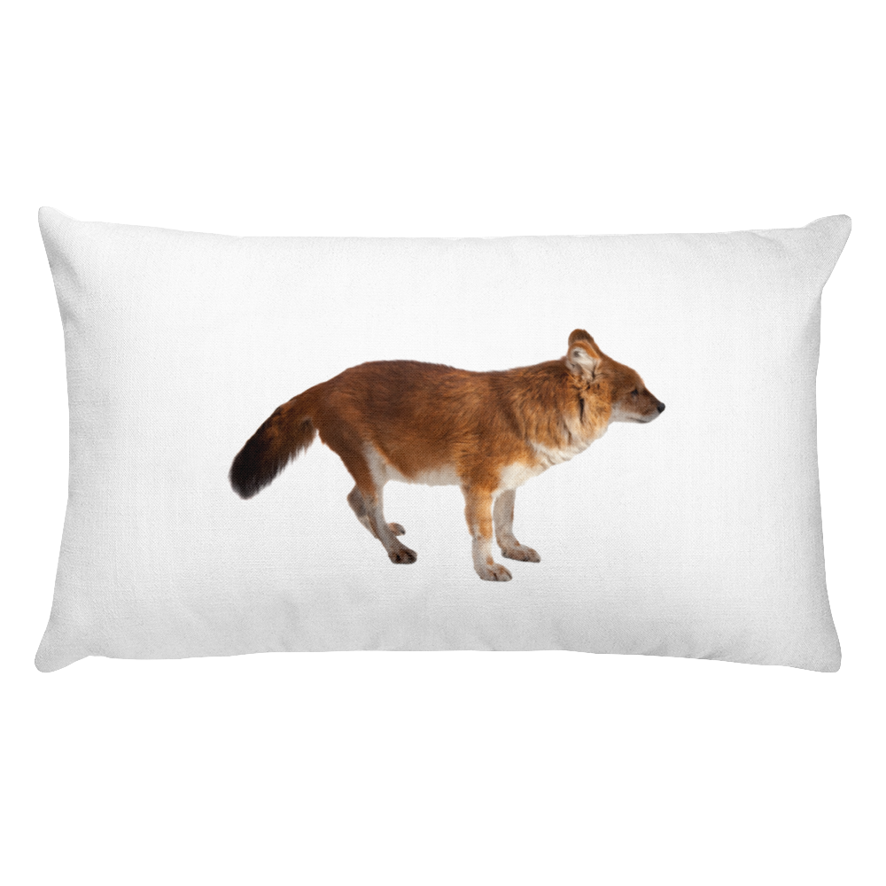 Dhole Print Rectangular Pillow