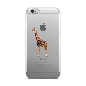 Giraffe Print iPhone Case