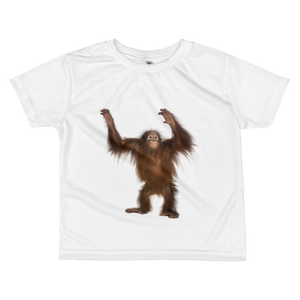 Orang-utan Print All-over kids sublimation T-shirt