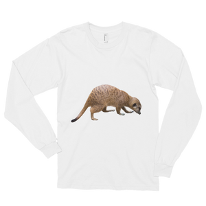 Mongoose Print Long sleeve t-shirt (unisex)