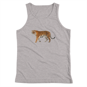 Siberian-Tiger Print Youth Tank Top