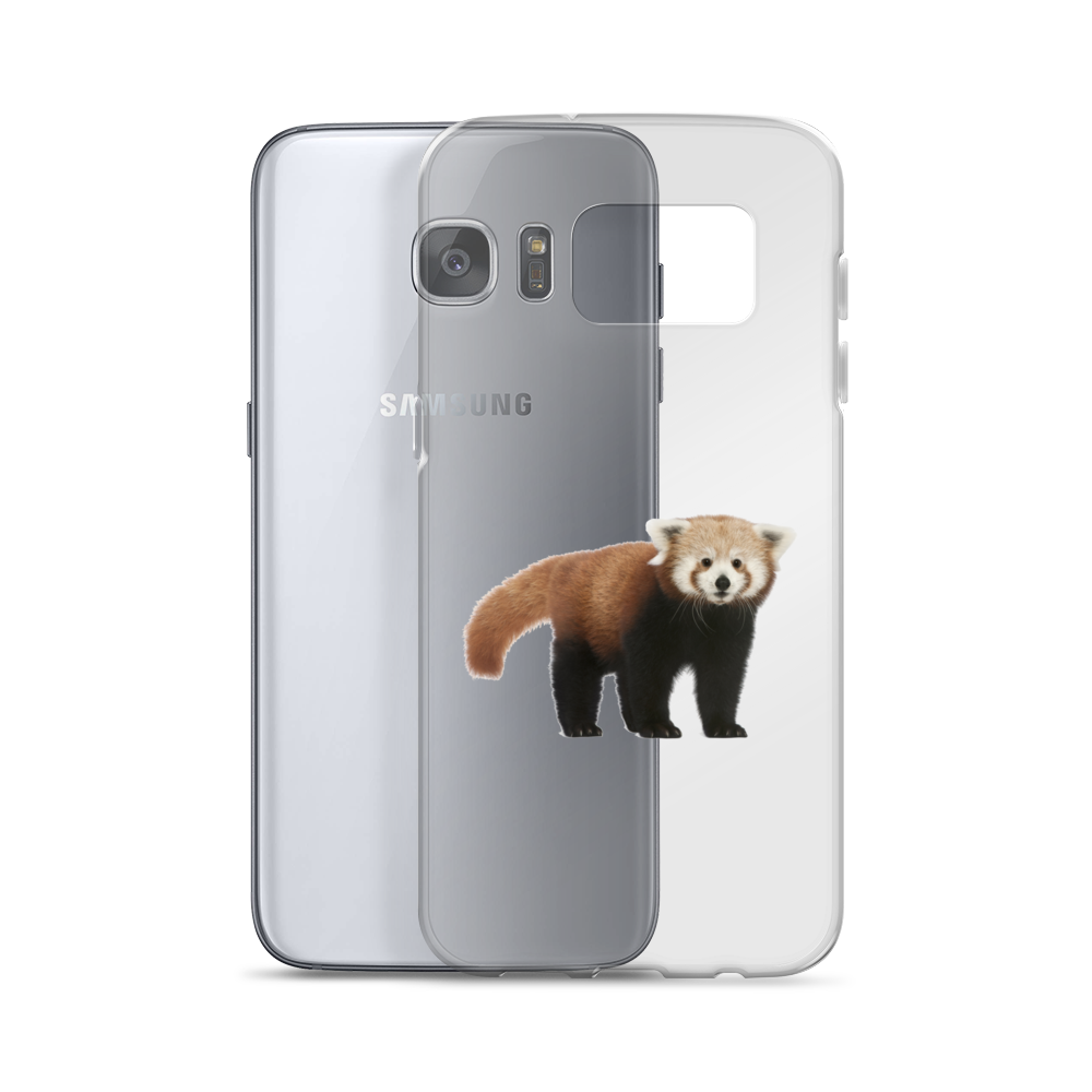Red-Panda Print Samsung Case