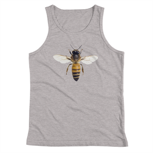 Honey-Bee Print Youth Tank Top